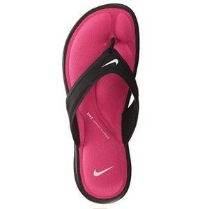 NIKE Ultra Comfort Thong Sandal Black Flip Flop